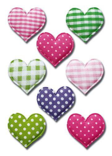 e1bf531e7b Nálepky Magic 6288 textilné srdce 3D - Regina Shop